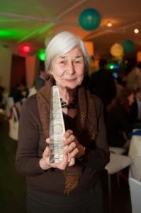 Drenka Willen, winner of the first annual James H. Ottaway Jr. Award for the Promotion of International Literature