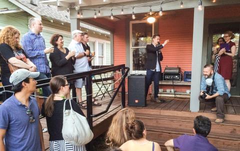 DV Launch Party Speech