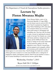 Fiston Mujila Flyer 10-7-15 UCLA