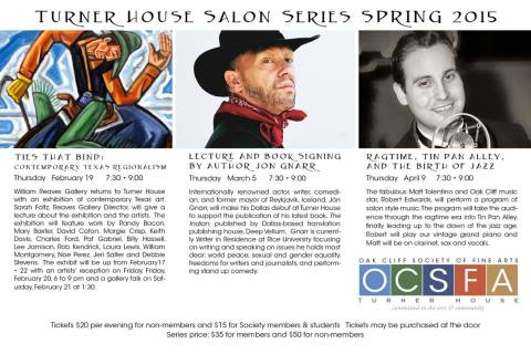 Gnarr Turner House March 5 Flyer