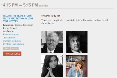 Boullosa Texas Book Festival Lineup