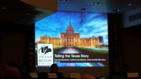 Telling the Texas Story: Carmen's panel at the Texas Book Festival (Oct. 25, 2014)