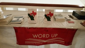 WORD UP selling Texas at the Americas Society