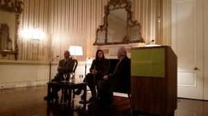 Nicolas Kanellos of Arté Publico Press in conversation w/ Carmen Boullosa & Rolando Hinojosa-Smith