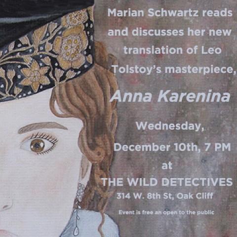 Marian Schwartz Anna Karenina Flyer